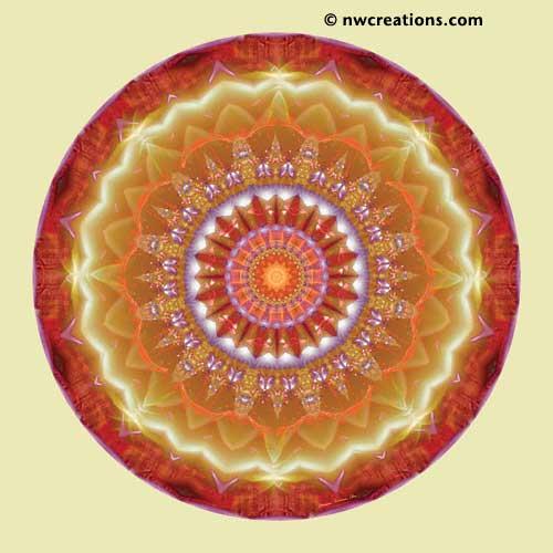 Mandalas from the Heart of Peace, No. 12