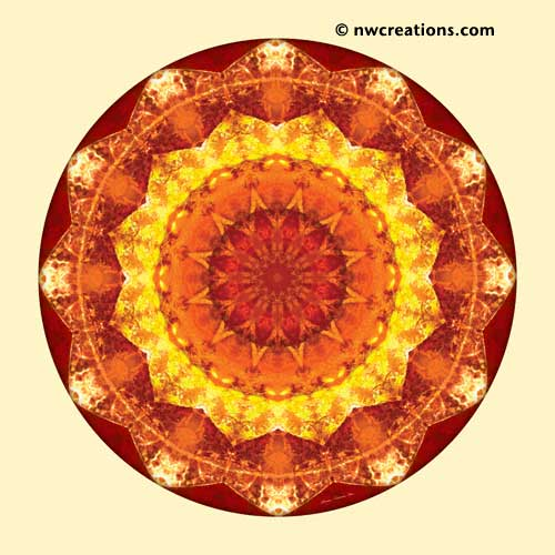 Mandalas from the Heart of Peace, No. 7