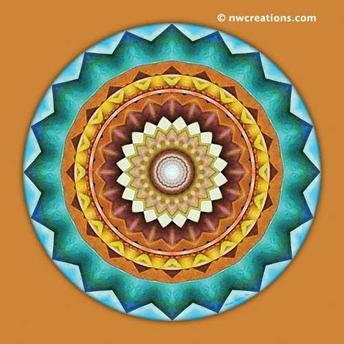 Mandalas from the Heart of Peace, No. 8