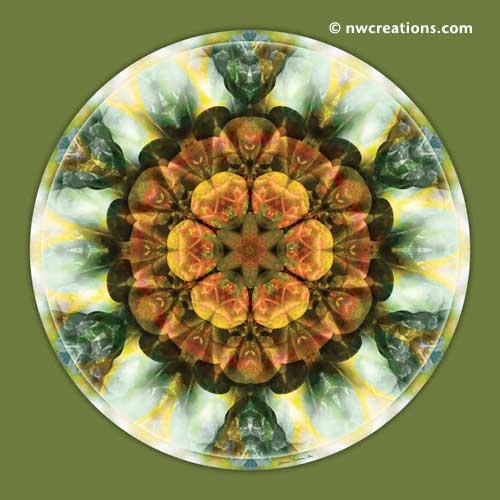 Mandalas from the Heart of Peace, No. 9