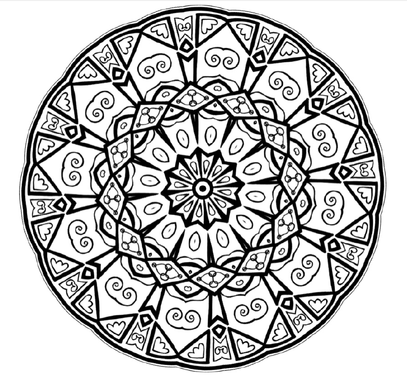 meditative coloring pages - mandala mondays mandala coloring 2 new world creations