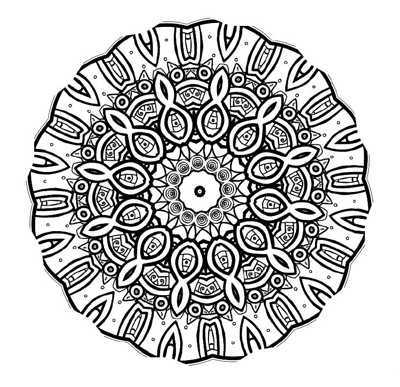 Mandala Mondays Mandala Coloring 3 New World Creations