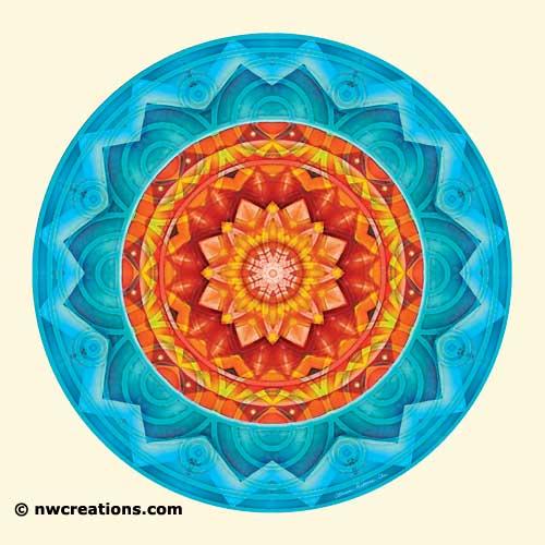 Mandalas of Deep Trust, No. 8