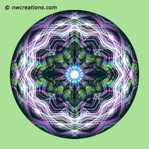 Mandalas from the Heart of Surrender, No. 11