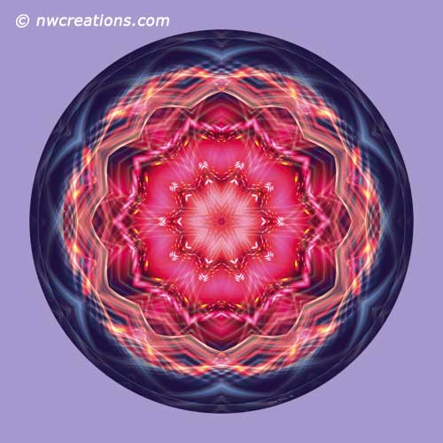 Mandalas from the Heart of Surrender, No. 12