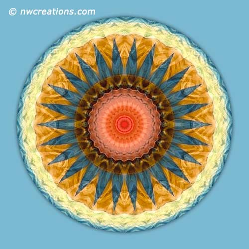 Mandalas from the Heart of Surrender, No. 8