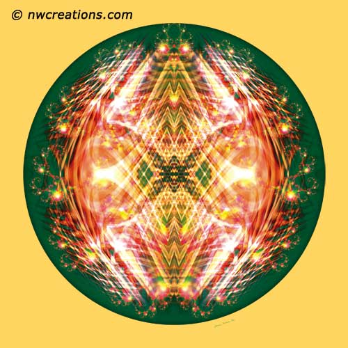 Mandalas from the Heart of Surrender, No. 9