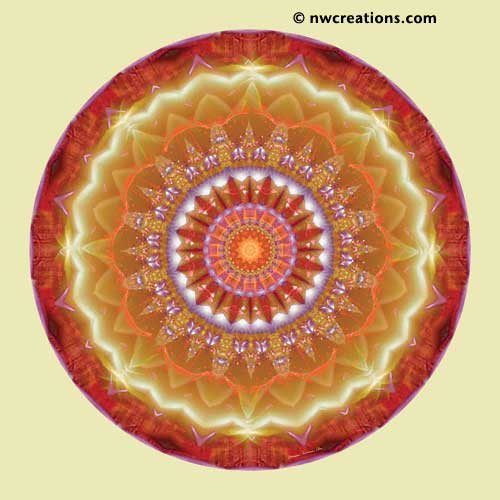 Mandalas from the Heart of Peace, No. 12