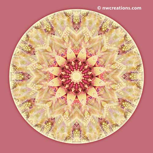 Mandalas from the Heart of Peace, No. 2