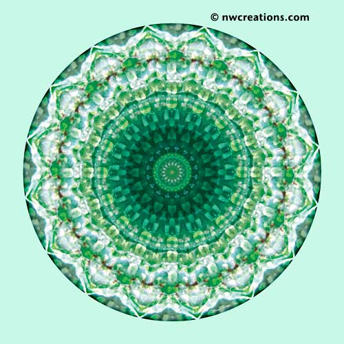 Mandalas from the Heart of Peace, No. 3