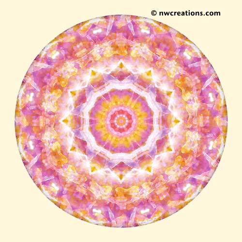 Mandalas from the Heart of Peace, No. 4