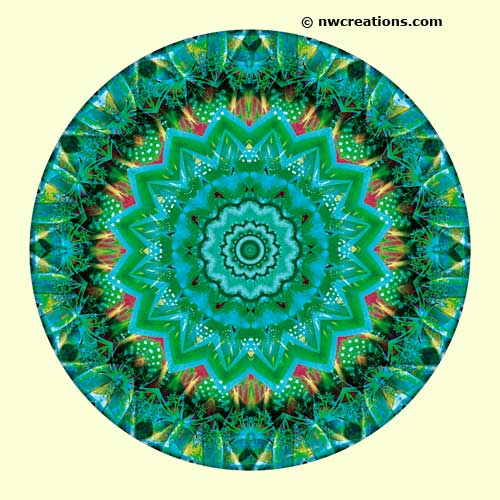 Mandalas from the Heart of Peace, No. 6