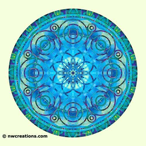 Mandalas of Deep Trust, No. 6