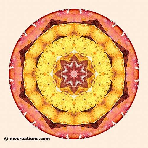 Mandalas of Deep Trust, No. 7