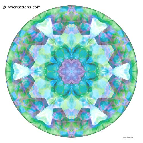 Mandalas of Healing and Awakening, No. 10