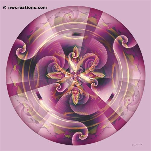 Mandalas of Healing and Awakening, No. 11