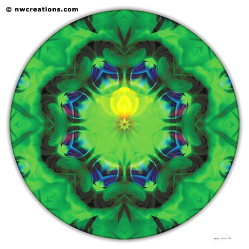 Mandalas of Healing and Awakening, No. 3