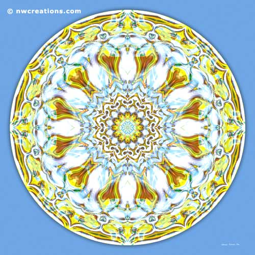 Mandalas of Healing and Awakening, No. 8