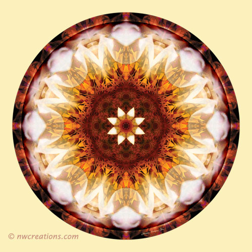 Mandalas from the Heart of Transformation, No. 10