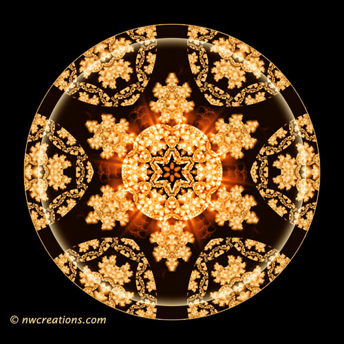 Mandalas from the Heart of Transformation, No. 11