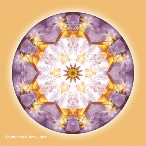 Mandalas from the Heart of Transformation, No. 12