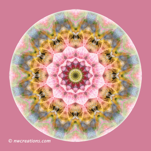 Mandalas from the Heart of Transformation, No. 1