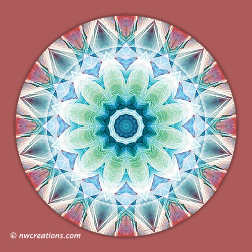 Mandalas from the Heart of Transformation, No. 2