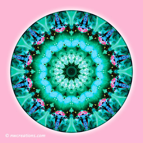 Mandalas from the Heart of Transformation, No. 5