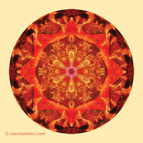 Mandalas from the Heart of Transformation, No. 7