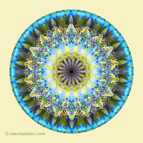 Mandalas from the Heart of Transformation, No. 8