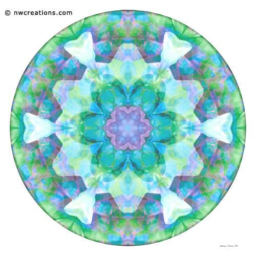 Mandalas of Healing and Awakening, No. 10