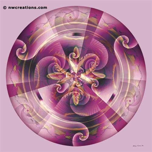 Mandalas of Healing and Awakening, No. 11