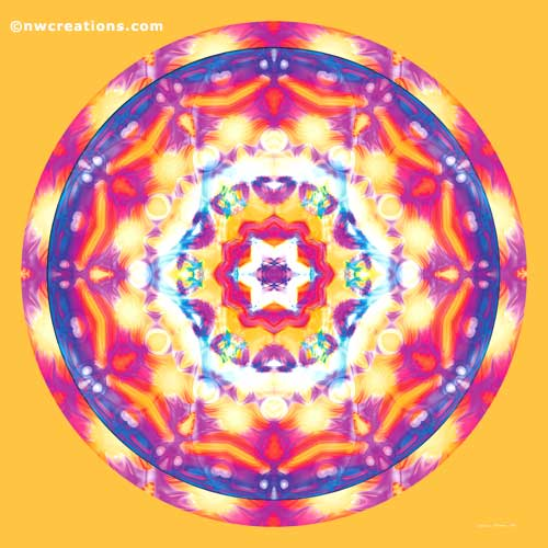 Mandalas of Healing and Awakening, No. 12