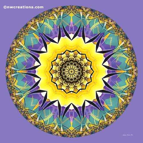 Mandalas of Healing and Awakening, No 5