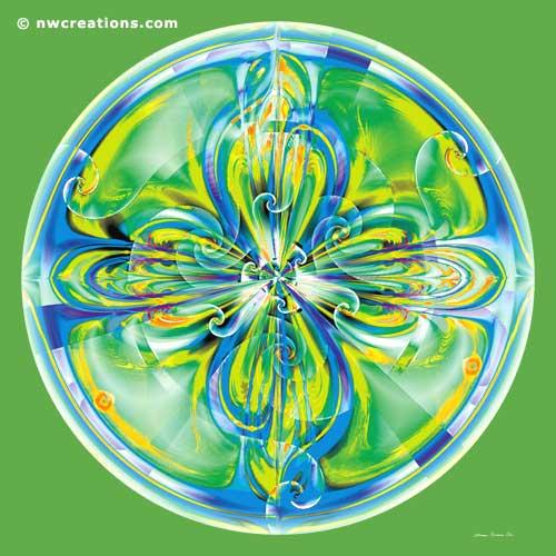 Mandalas of Healing and Awakening, No 6