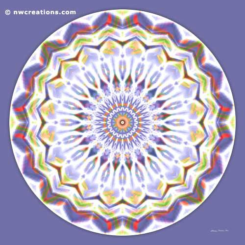 Mandalas of Healing and Awakening, No. 7