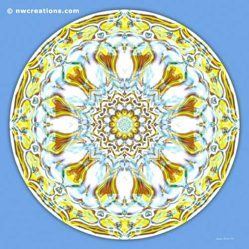 Mandalas of Healing and Awakening, No. 8