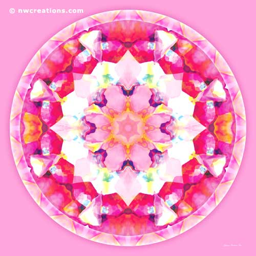 Mandalas of Healing and Awakening, No. 9