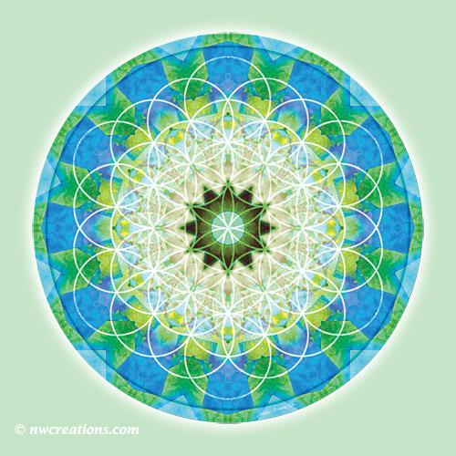 Sacred Geometry Mandala 12