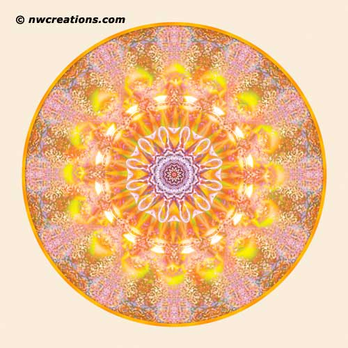 Mandalas from the Heart of Truth, No. 10