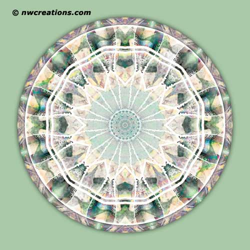 Mandalas from the Heart of Truth, No. 11