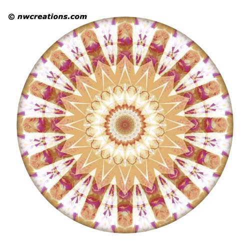 Mandalas from the Heart of Truth, No. 12