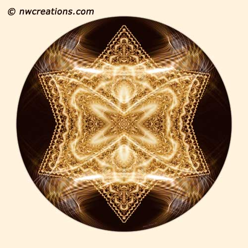 Mandalas from the Heart of Surrender, No. 10