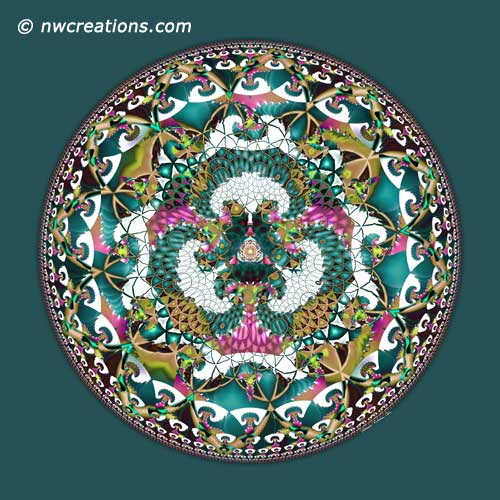 Mandalas from the Heart of Surrender, No. 13