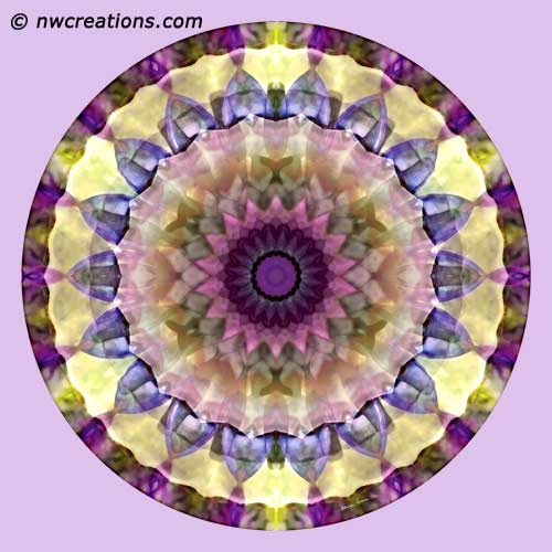 Mandalas from the Heart of Surrender, No. 2