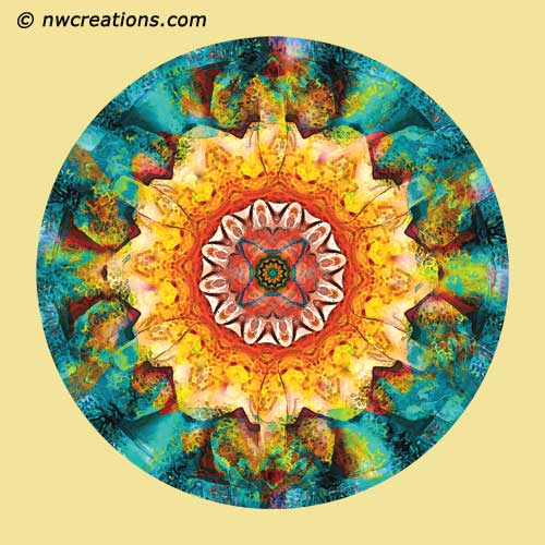 Mandalas from the Heart of Surrender, No. 4