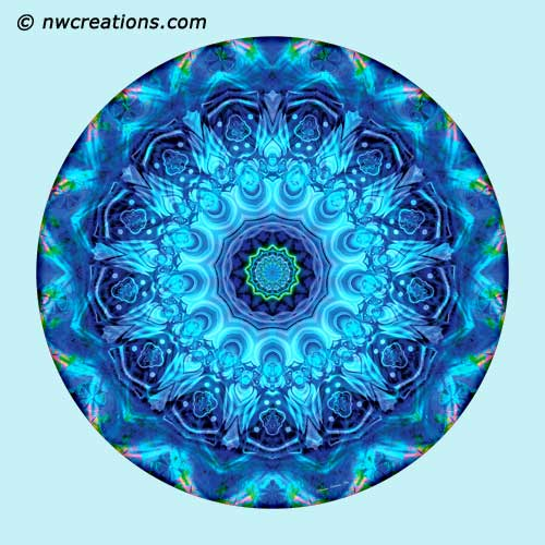 Mandalas from the Heart of Surrender, No. 5