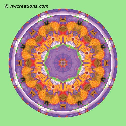 Mandalas from the Heart of Surrender, No. 7